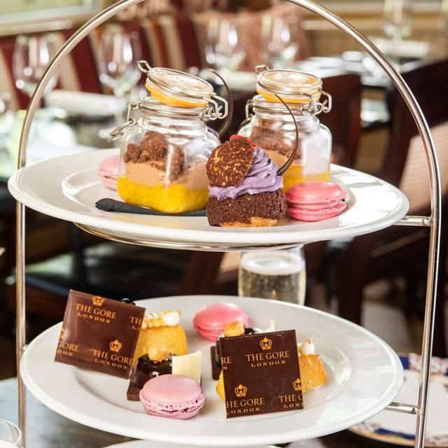 Afternoon Tea at The Gore, London