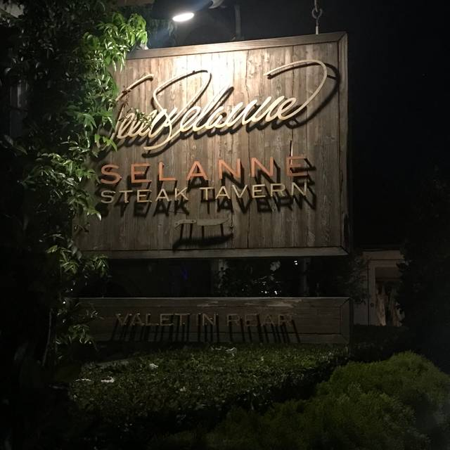 Selanne Steak Tavern, Laguna Beach, CA