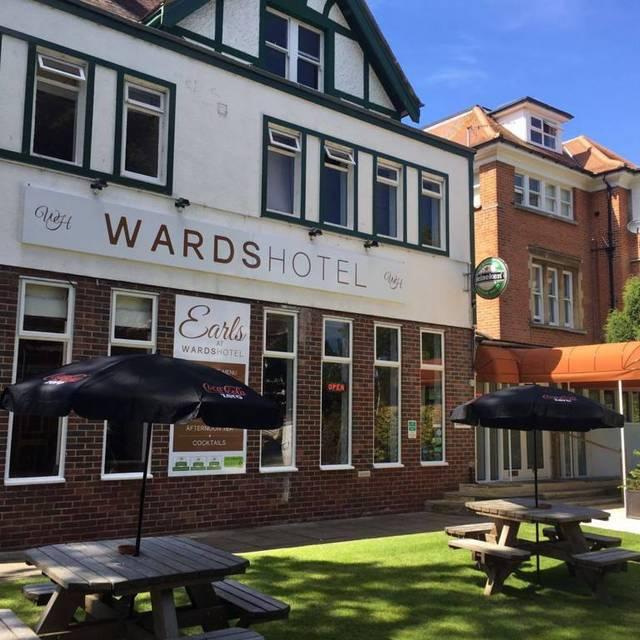 Earls restaurant, Folkestone, Kent