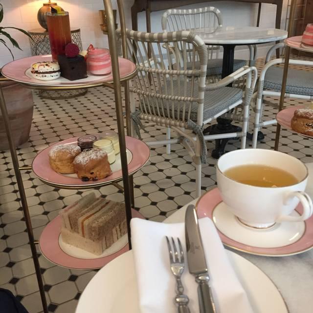 Afternoon Tea Lounge at The Tamburlaine Hotel, Cambridge, Cambridgeshire