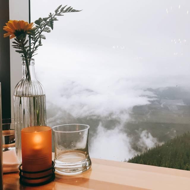 Sky Bistro, Mountain Top Dining @ Banff Gondola