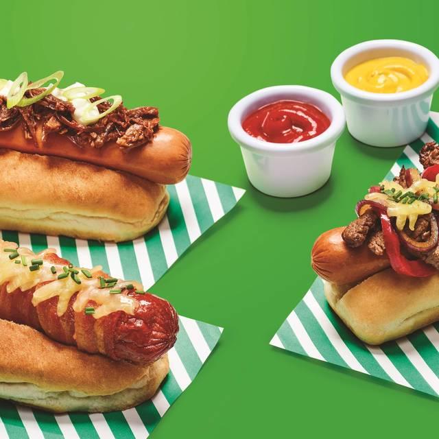 F B - Day Three Hot Dogs  F Green - Frankie & Benny's - Clarks Village, Street, Somerset