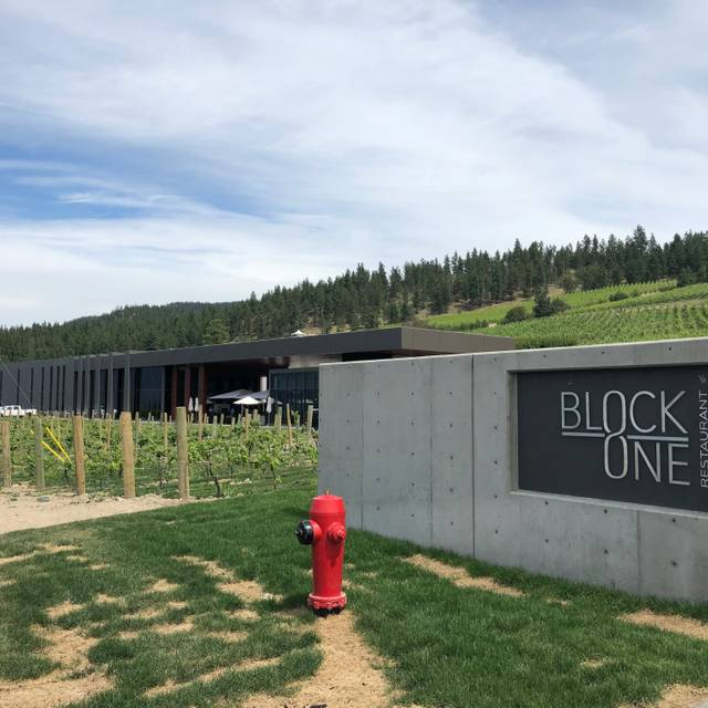 BLOCK ONE Restaurant at 50th Parallel Winery, Lake Country, BC