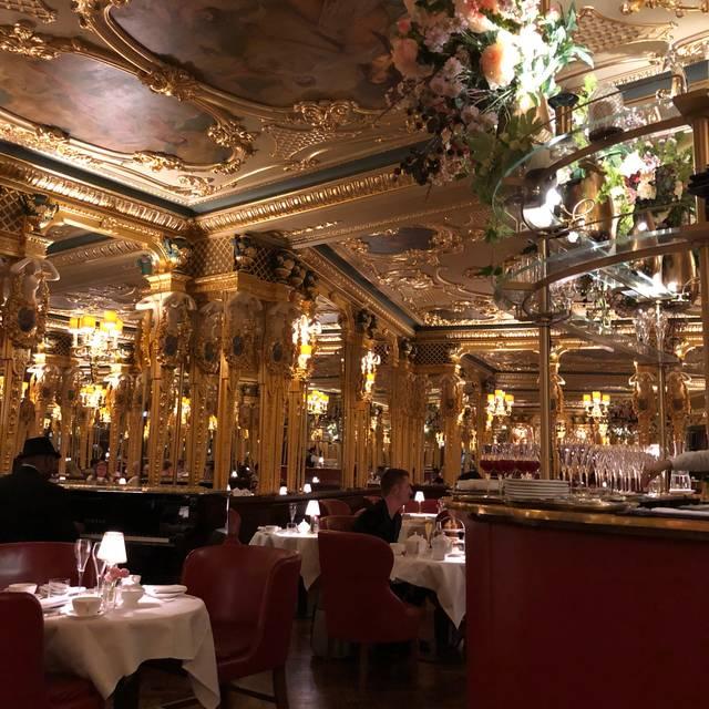 Afternoon tea at Hotel Café Royal, London