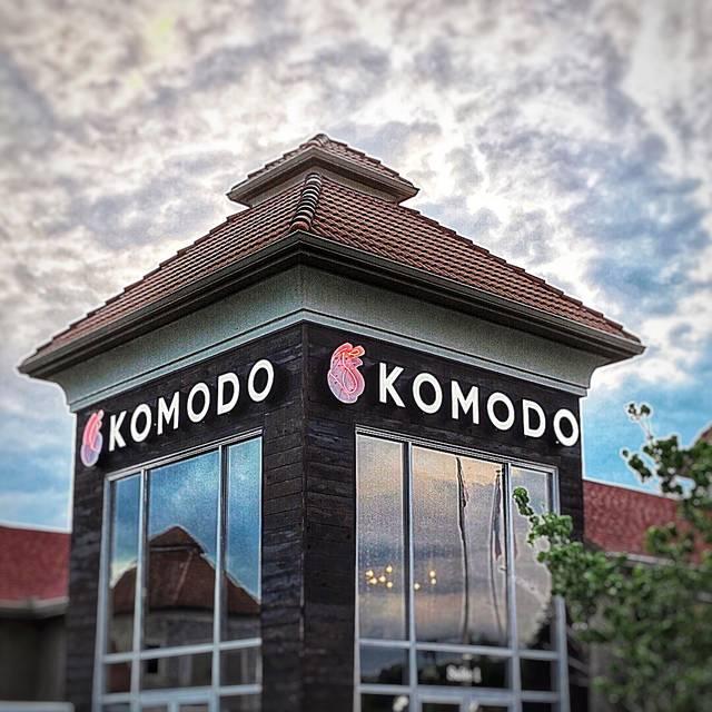 Komodo Restaurant Rogers Ar Opentable