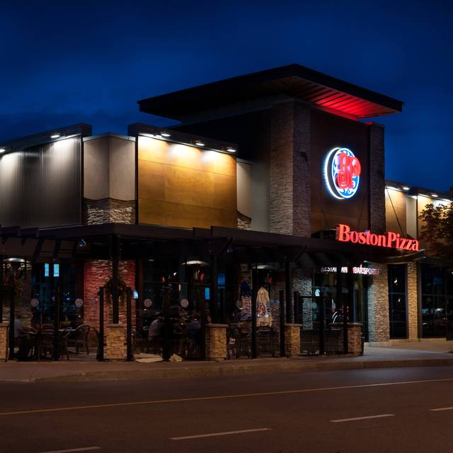 Laval Exterior Night - Boston Pizza - Front & John, Toronto, ON