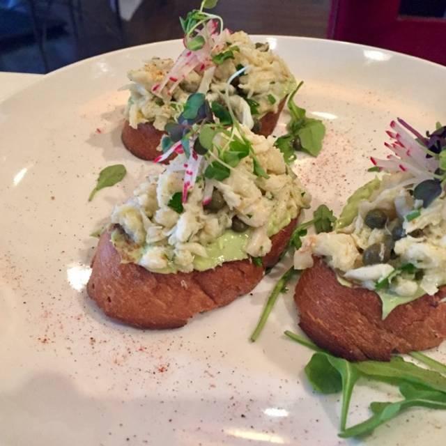 Crab And Avocado Ciabatta - Il Poggiolo, Hinsdale, IL