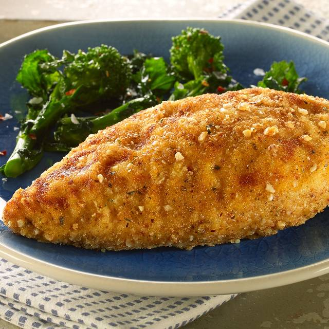 Parmesan And Almond Breaded Chicken - Marmions Mediterranean, Melrose, Scottish Borders