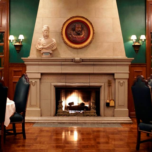 Bh Fireplace - Lawry's The Prime Rib - Beverly Hills, Beverly Hills, CA