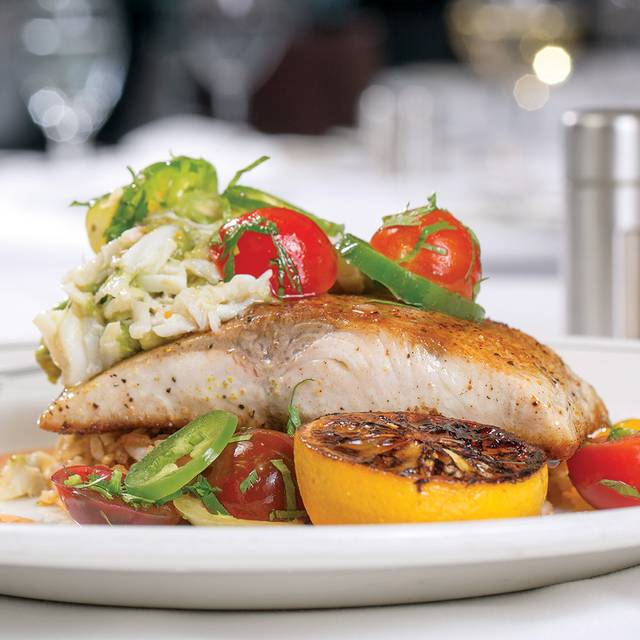 Sweet Spicy Halibut - Truluck's Seafood, Steak and Crab House - Austin Arboretum, Austin, TX