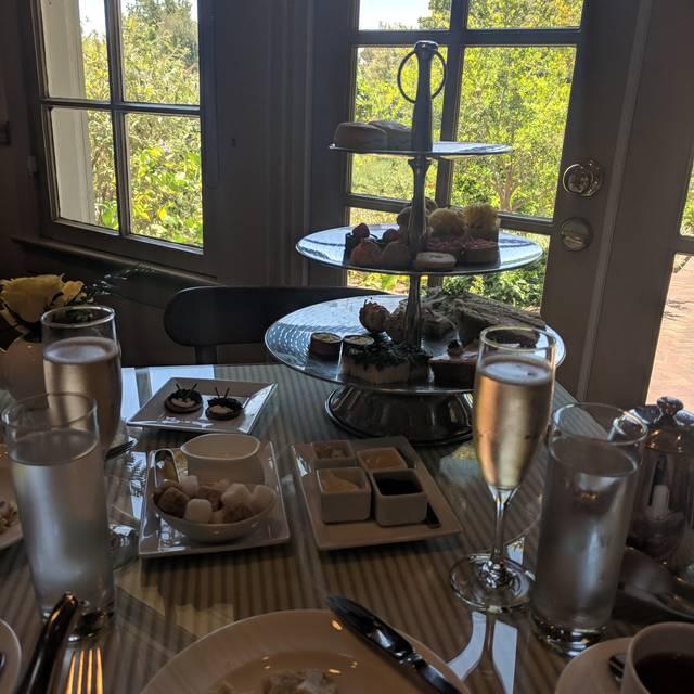 The Huntington's Rose Garden Tea Room, San Marino, CA