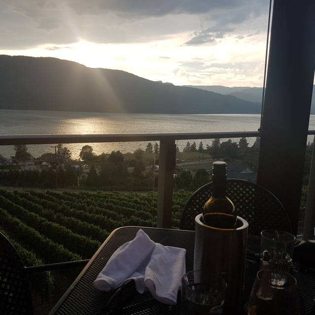 Grapevine Restaurant and Patio at Gray Monk Estate Winery, Lake Country, BC