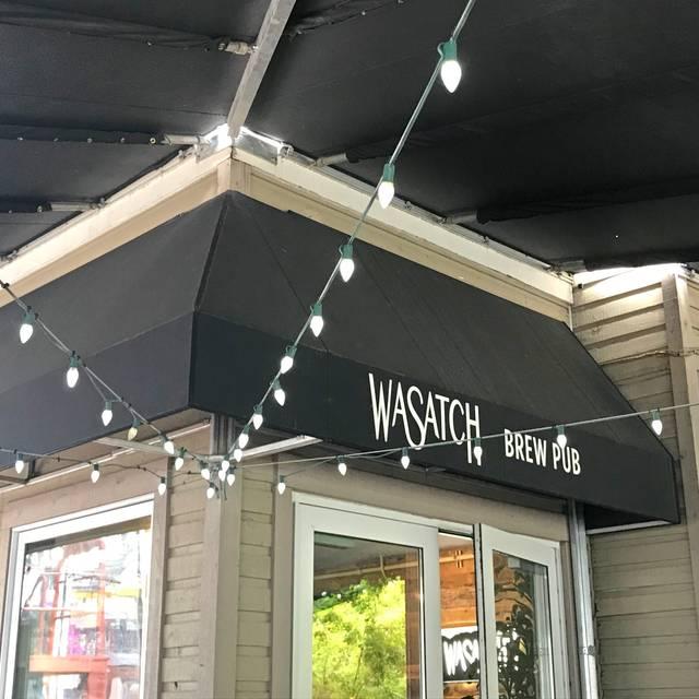 Wasatch Brewery - Park City, Park City, UT
