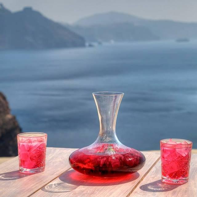 Asea Lounge Restaurant, Oia, Santorini