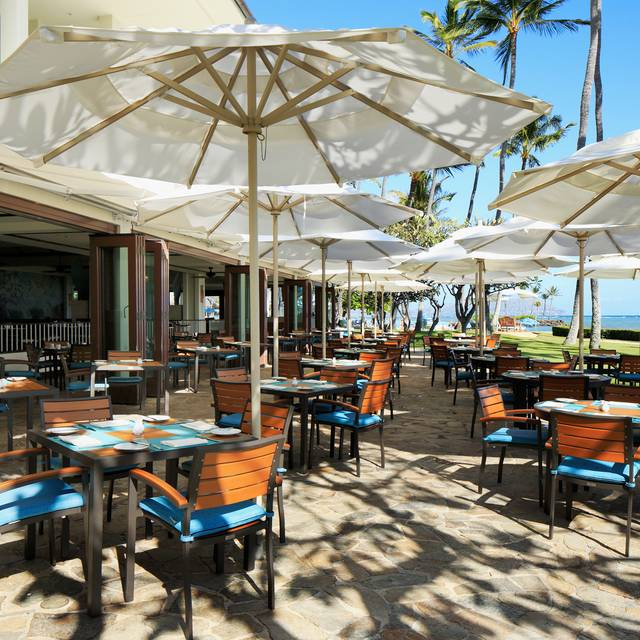 Outdoor Dining at Plumeria Beach House - Plumeria Beach House, Honolulu, HI