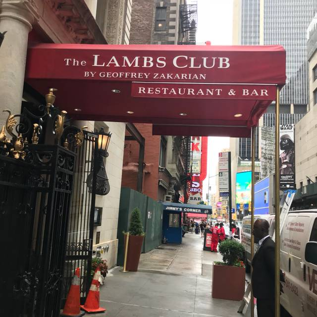 The Lambs Club - Bar, New York, NY