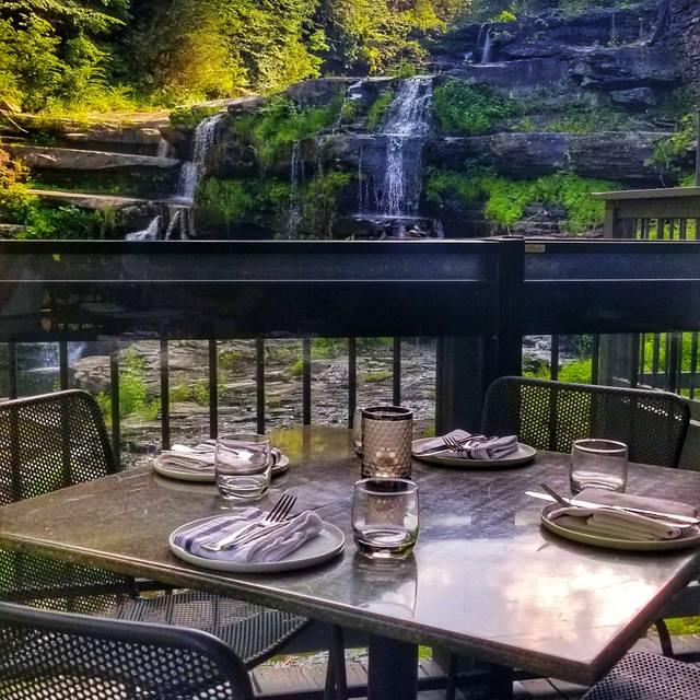 Glass – wine. bar. kitchen. at Ledges Hotel, Hawley, PA