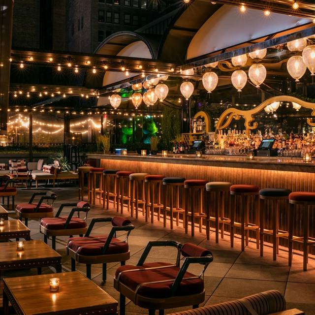 East Patio Bar- - Magic Hour Rooftop Bar & Lounge, New York, NY