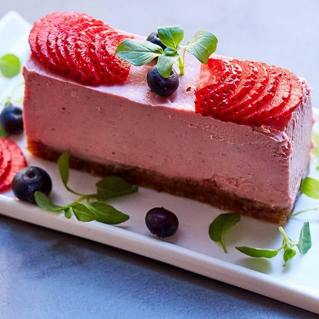 Strawberry Cheesecake - Divya's Kitchen, New York, NY