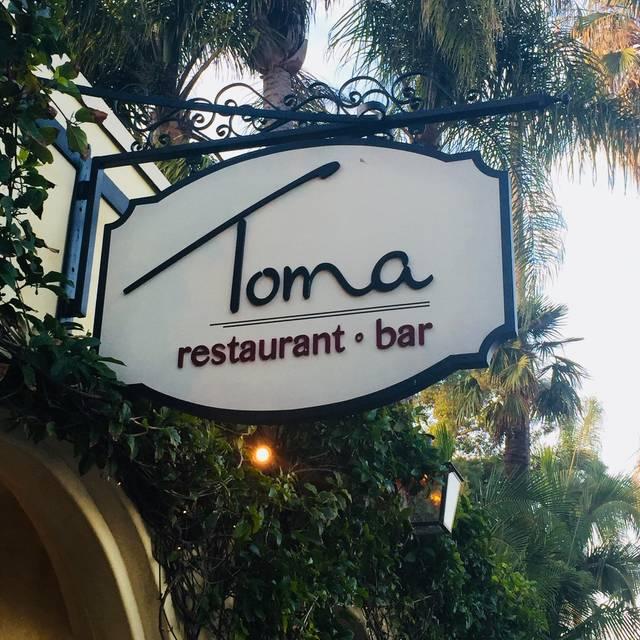Toma Restaurant & Bar, Santa Barbara, CA