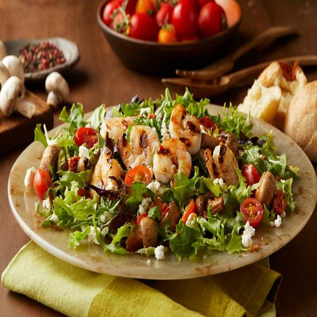 Mediterraneo Salad wShrimp - Bertucci's - Langhorne, Langhorne, PA