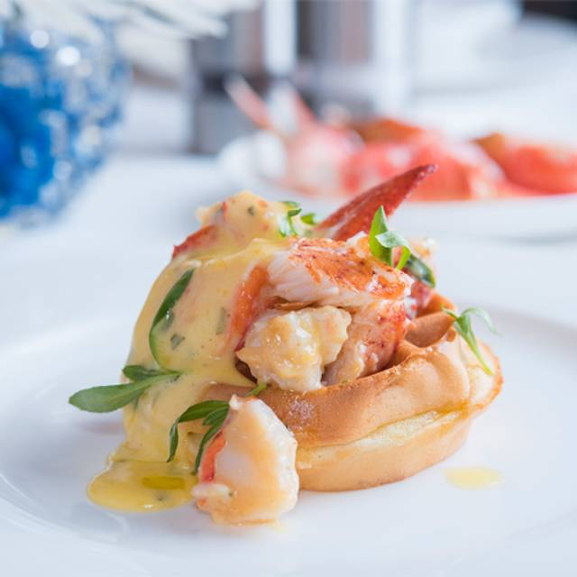 Opentable - Sunday Brunch Lobster Waffle - The Belvedere at The Peninsula Beverly Hills, Beverly Hills, CA