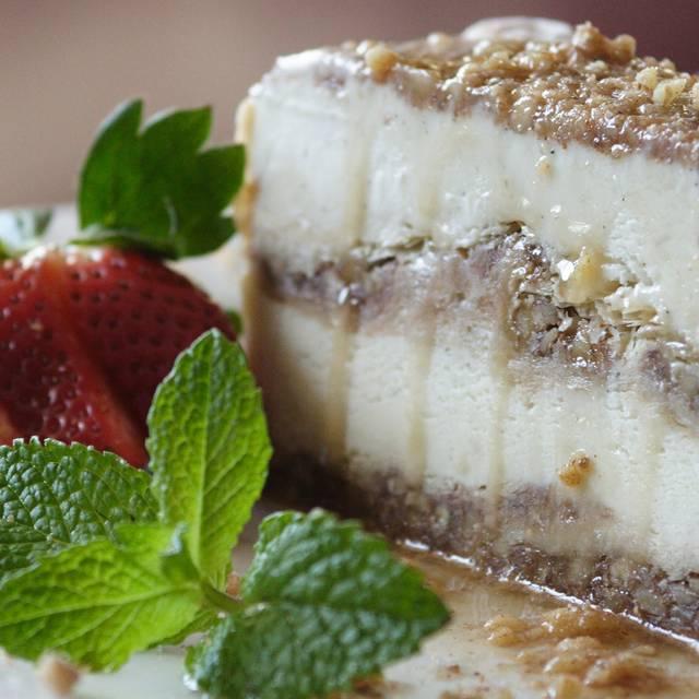 Baklava Ice Cream Cake - Beeside Balcony, Del Mar, CA