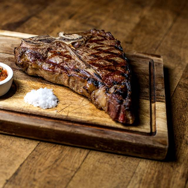 Porterhouse steak - Anderson's Bar & Grill, Birmingham, West Midlands