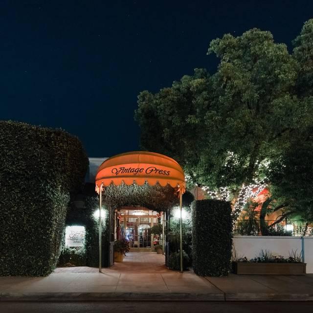 The Vintage Press, Visalia  Restaurant Info, Reviews, Photos