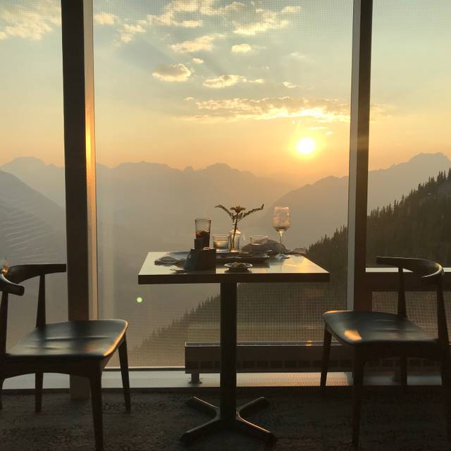 Sky Bistro, Mountain Top Dining @ Banff Gondola, Banff, AB