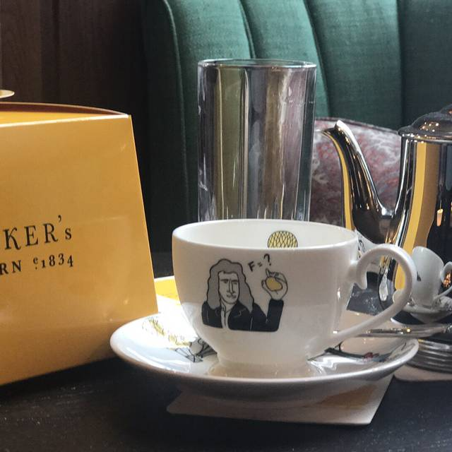 Afternoon Tea at Parker's Tavern, Cambridge, Cambridgeshire
