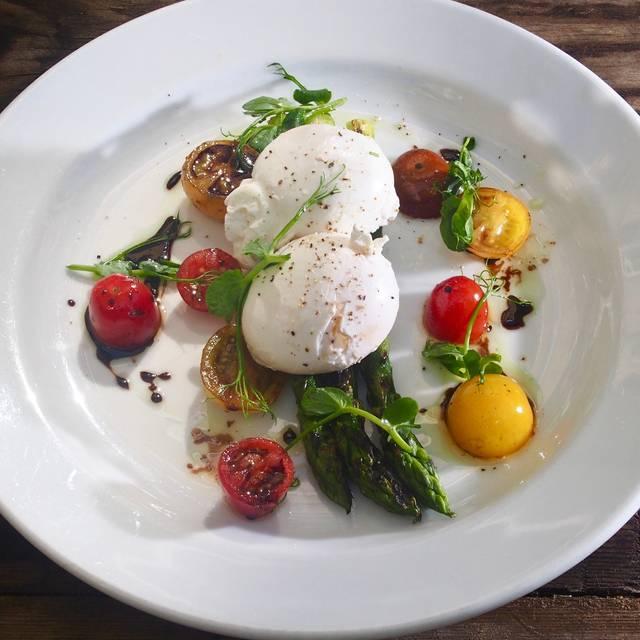 Asparagus And Eggs - Manicomio Cafe, London