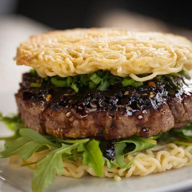 Ramen Burger - Tokio Pub, Schaumburg, IL