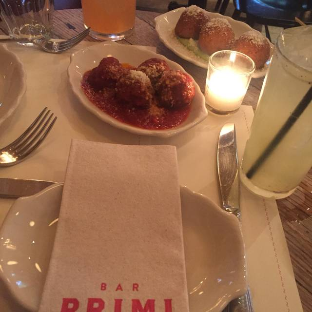 Bar Primi, New York, NY