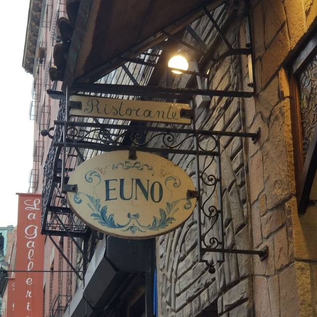 Euno Ristorante, Boston, MA