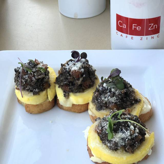 Cafe Zinc, Midland, MI