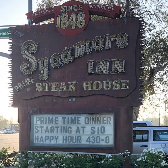 The Sycamore Inn Prime Steak House Restaurant Rancho Cucamonga Ca