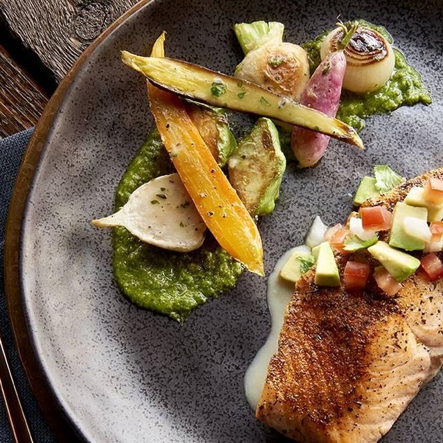 Blackened Wild Isles Salmon - McCormick & Schmick's Seafood - Houston, Houston, TX