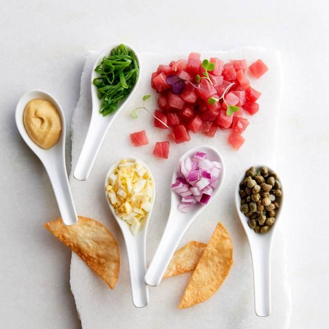 Bigeye Ahi Tuna Tableside Tartare - McCormick & Schmick's Seafood - San Jose, San Jose, CA