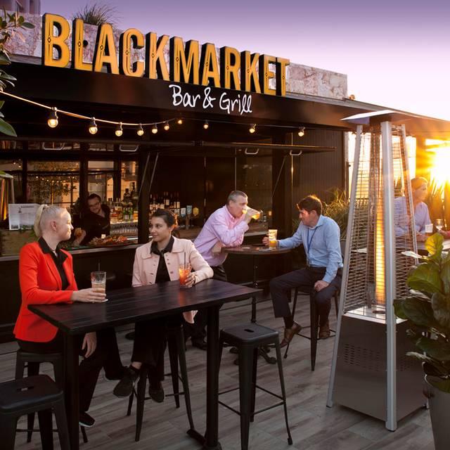 Rooftop Bar - Blackmarket Bar & Grill - Brisbane CBD, Brisbane, AU-QLD