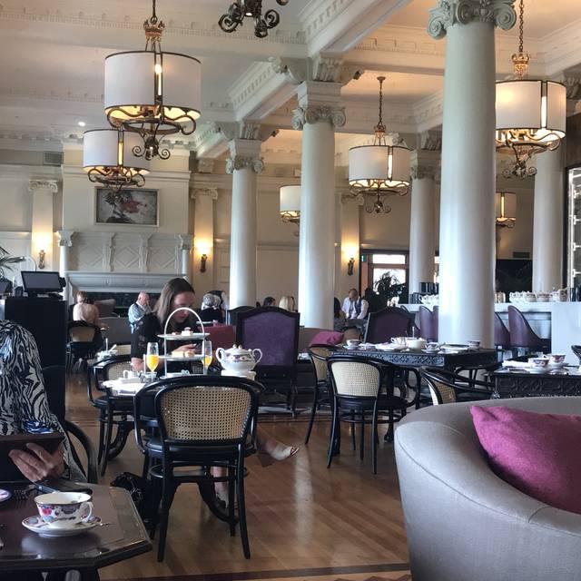 Tea at The Empress, Victoria, BC