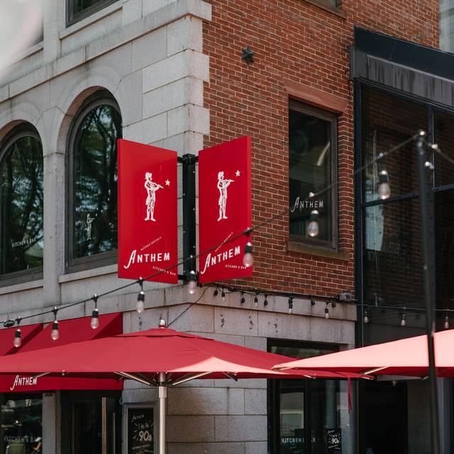 Anthem Kitchen Bar Boston Ma: Anthem Restaurante - Boston, MA