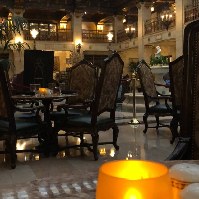 Palm Court Grill at The Davenport Hotel, Spokane, WA