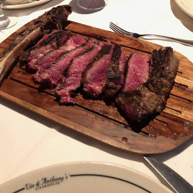 Vic & Anthony's Steakhouse, Atlantic City, NJ