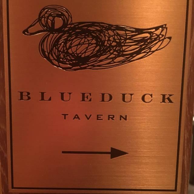 Blue Duck Tavern 2deb32b45