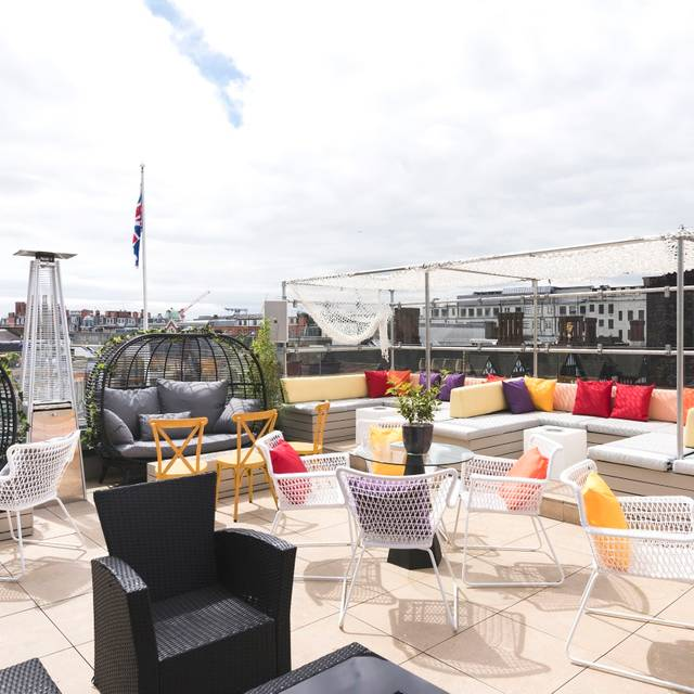 Toy Roof At Courthouse Hotel Soho Restaurant London
