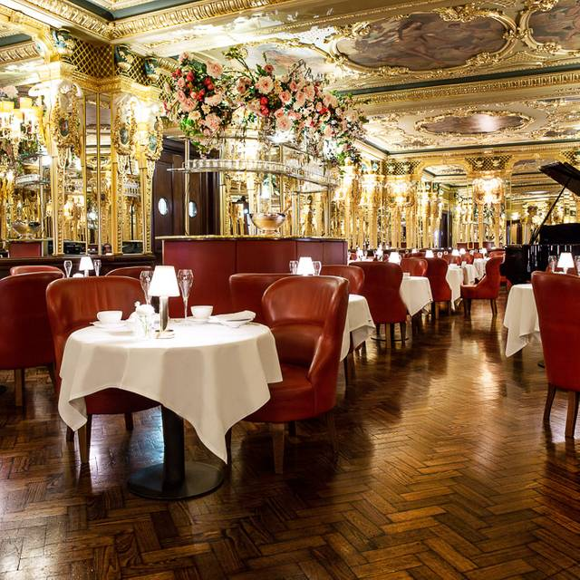 Hotel Cafe Royal - Oscar Wilde Lounge - Afternoon tea at Hotel Café Royal, London