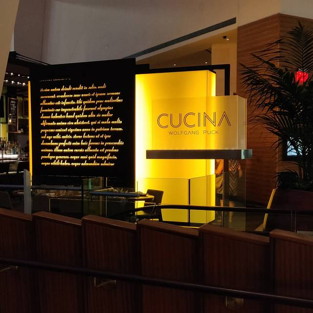 Cucina By Wolfgang Puck Las Vegas Restaurant Info Reviews Photos