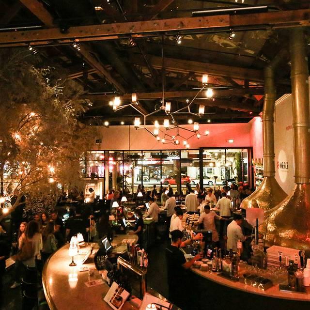 Night Shot - MidiCi Neapolitan Pizza - Riverside, Riverside, CA