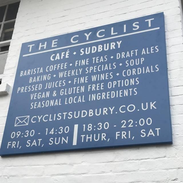 The Cyclist, Sudbury, Suffolk